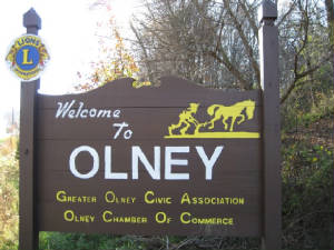 welcome to olney