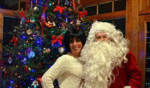 santa introduces wife